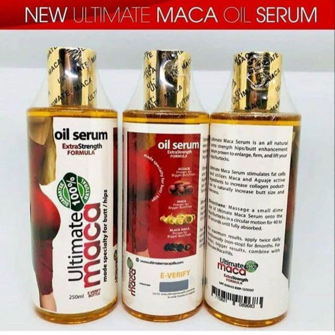 HUILE SÉRUM ULTIMATE MACA 250ml